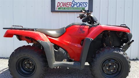 2016 Honda FourTrax Rancher 4x4 ES in Greenville, South Carolina