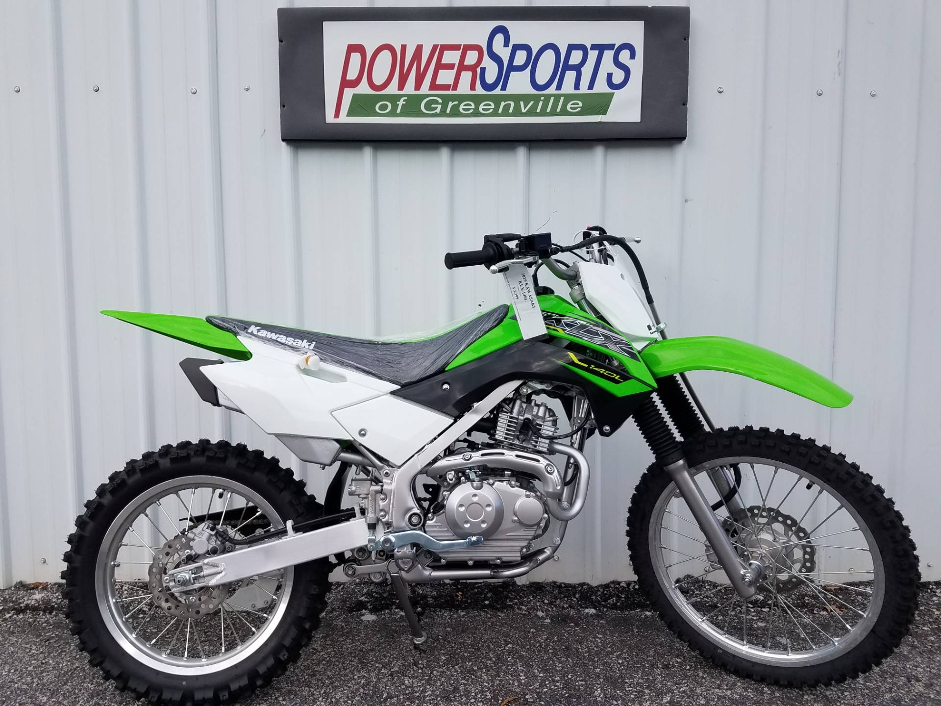 2019 Kawasaki KLX 140L in Greenville, South Carolina