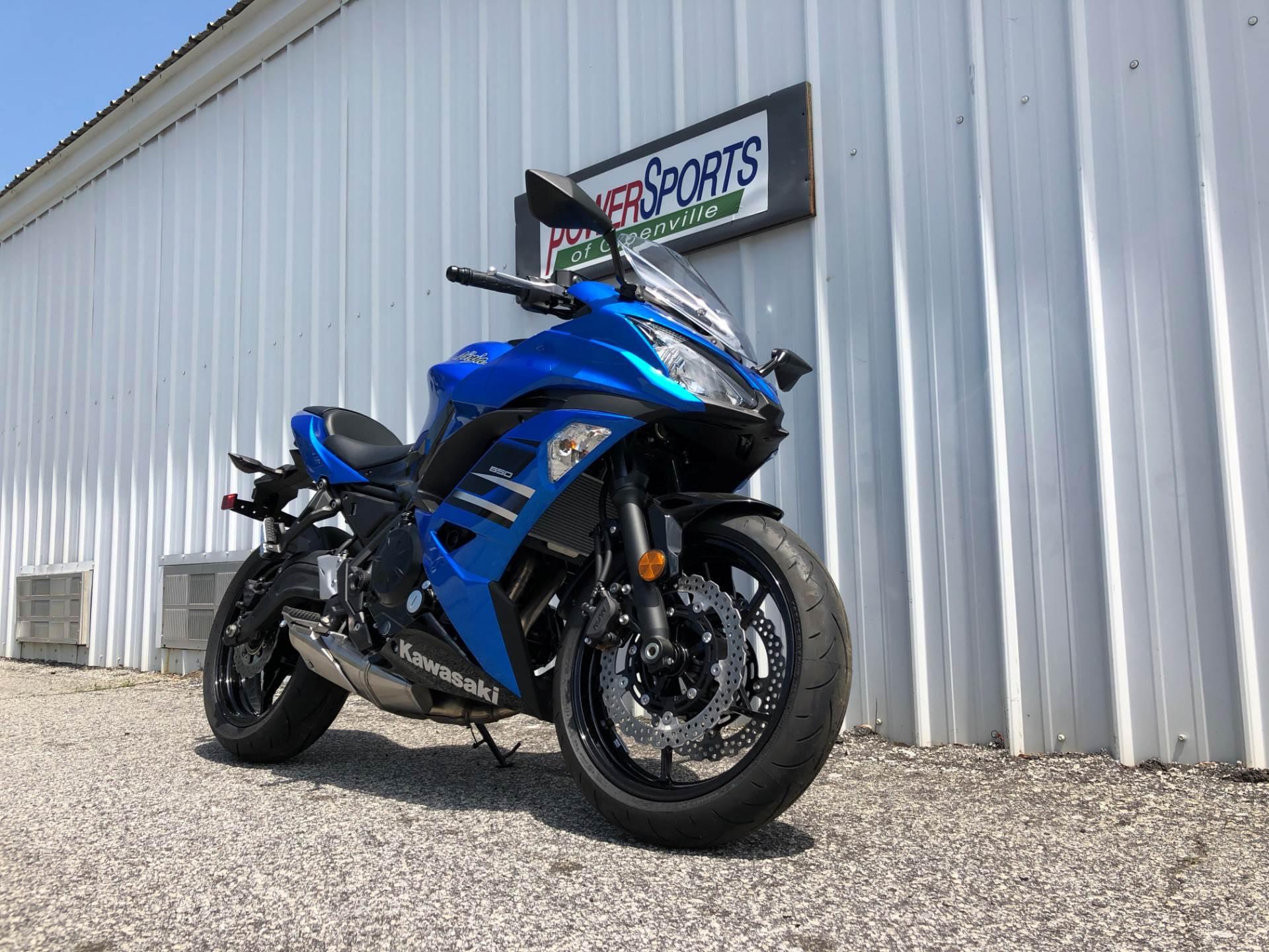 2018 Kawasaki Ninja 650 In Greenville South Carolina