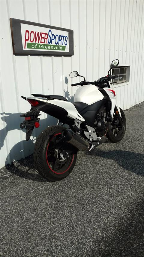 2014 Honda CB500F in Greenville, South Carolina