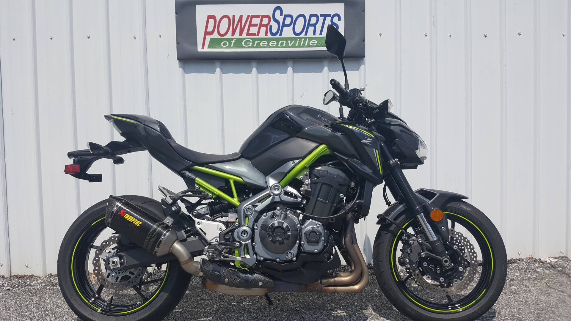 2017 Kawasaki Z900 in Greenville, South Carolina