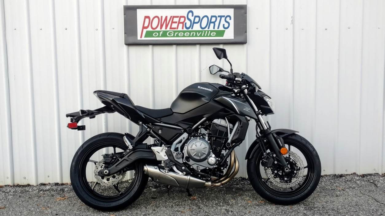 2017 Kawasaki Z650 ABS in Greenville, South Carolina