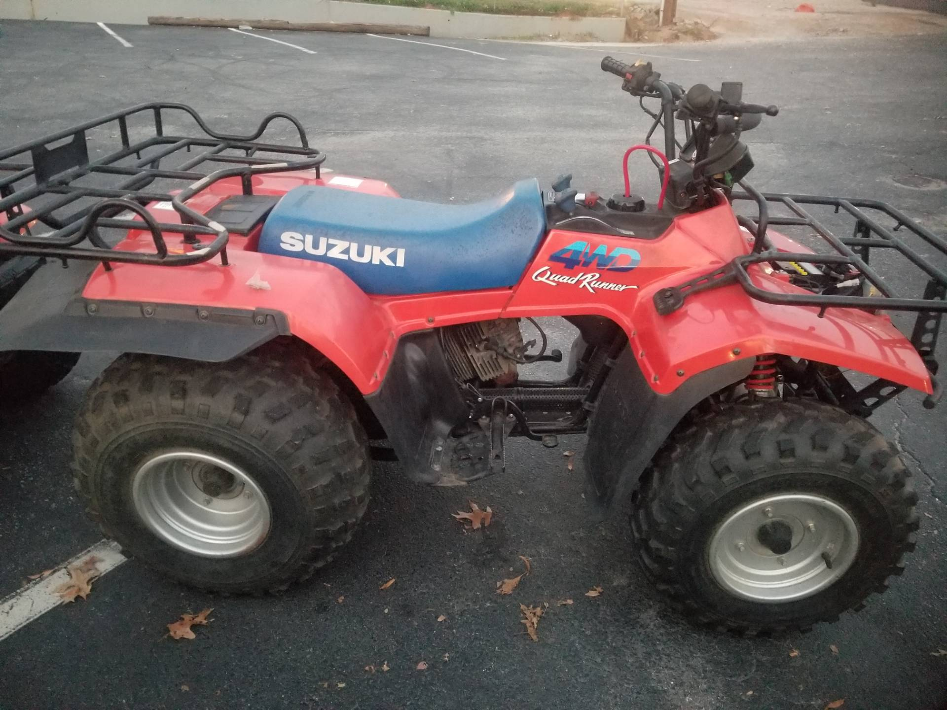 1990 Suzuki QUADRUNNER in Greenville, South Carolina