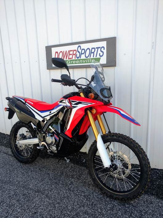 2017 Honda CRF250L Rally in Greenville, South Carolina