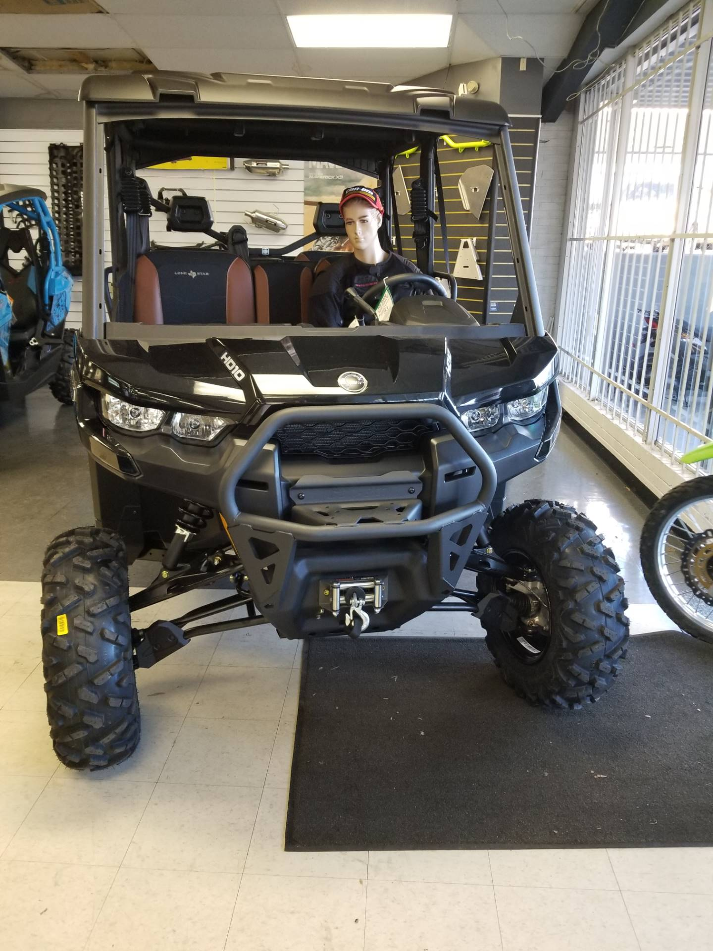 2018 Can-Am Defender MAX LONE STAR HD10 in Greenville, South Carolina