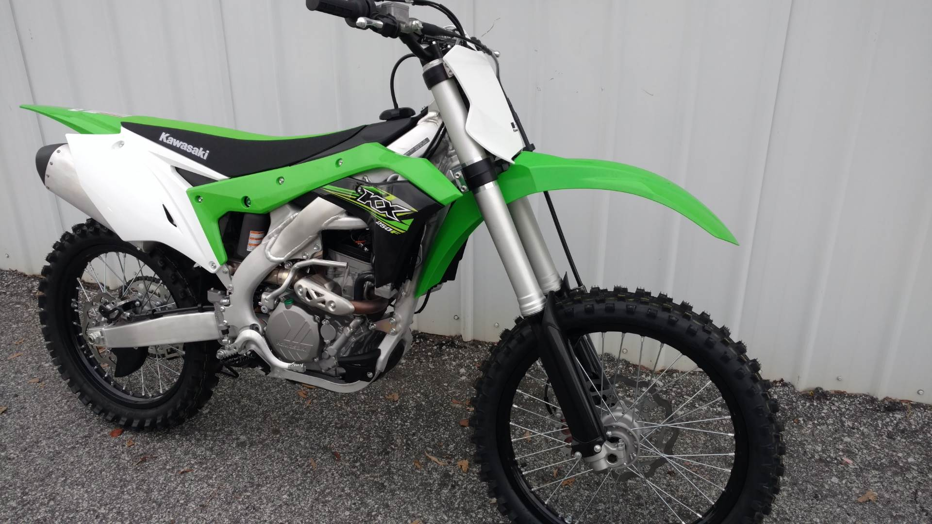 2017 Kawasaki KX250F in Greenville, South Carolina