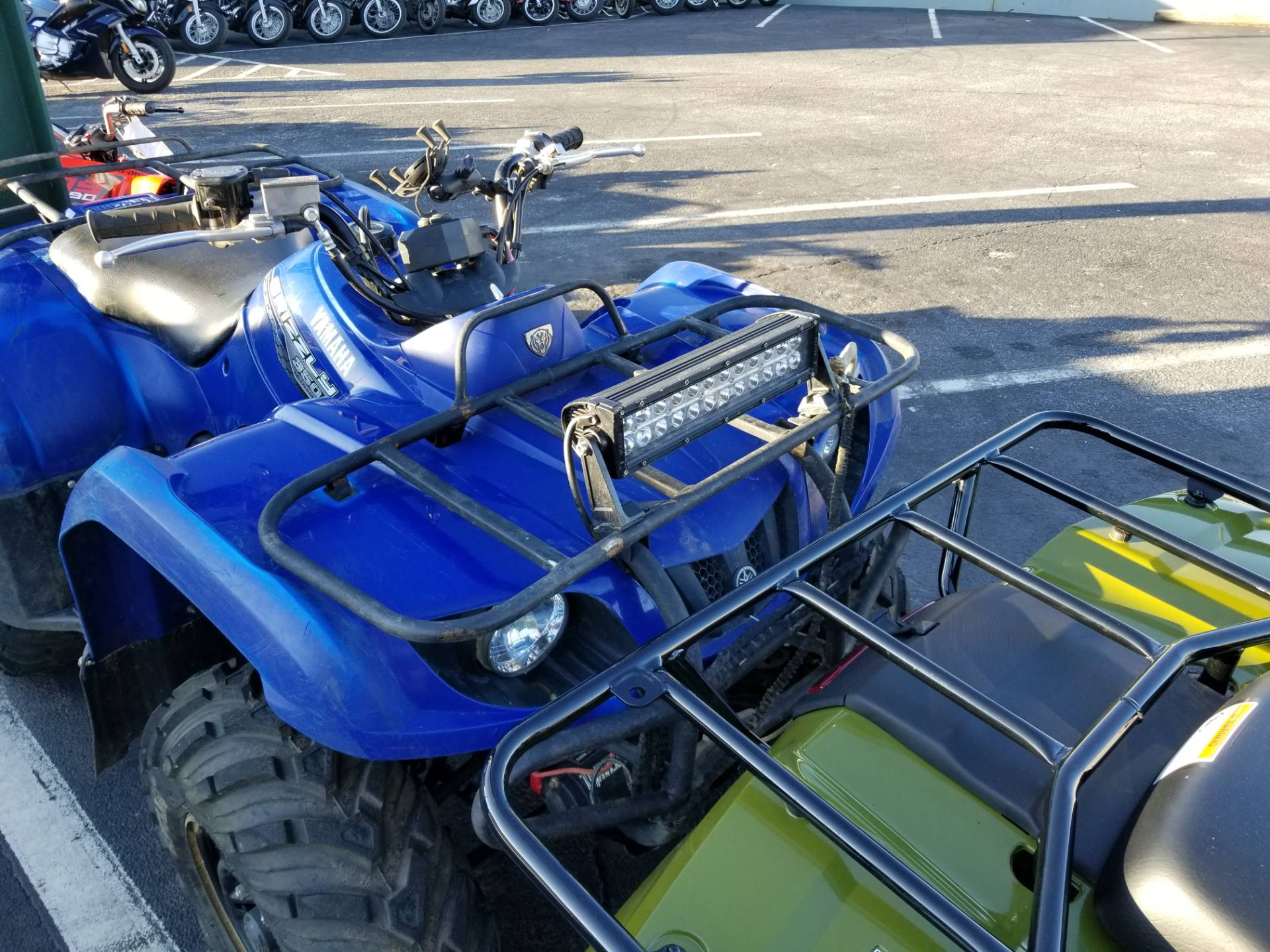 Used 2014 Yamaha Grizzly 350 Auto 4x4 ATVs in Greenville SC