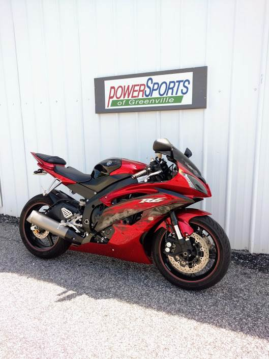 2011 Yamaha YZF-R6 in Greenville, South Carolina