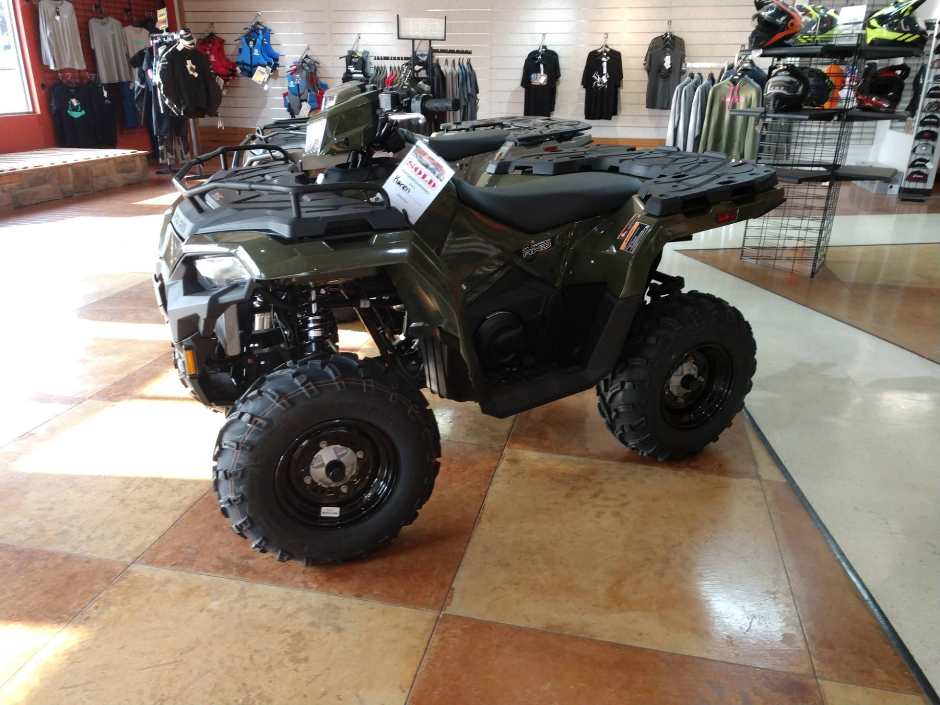 2021 Polaris Sportsman 450 H.O. in Hamburg, New York - Photo 3
