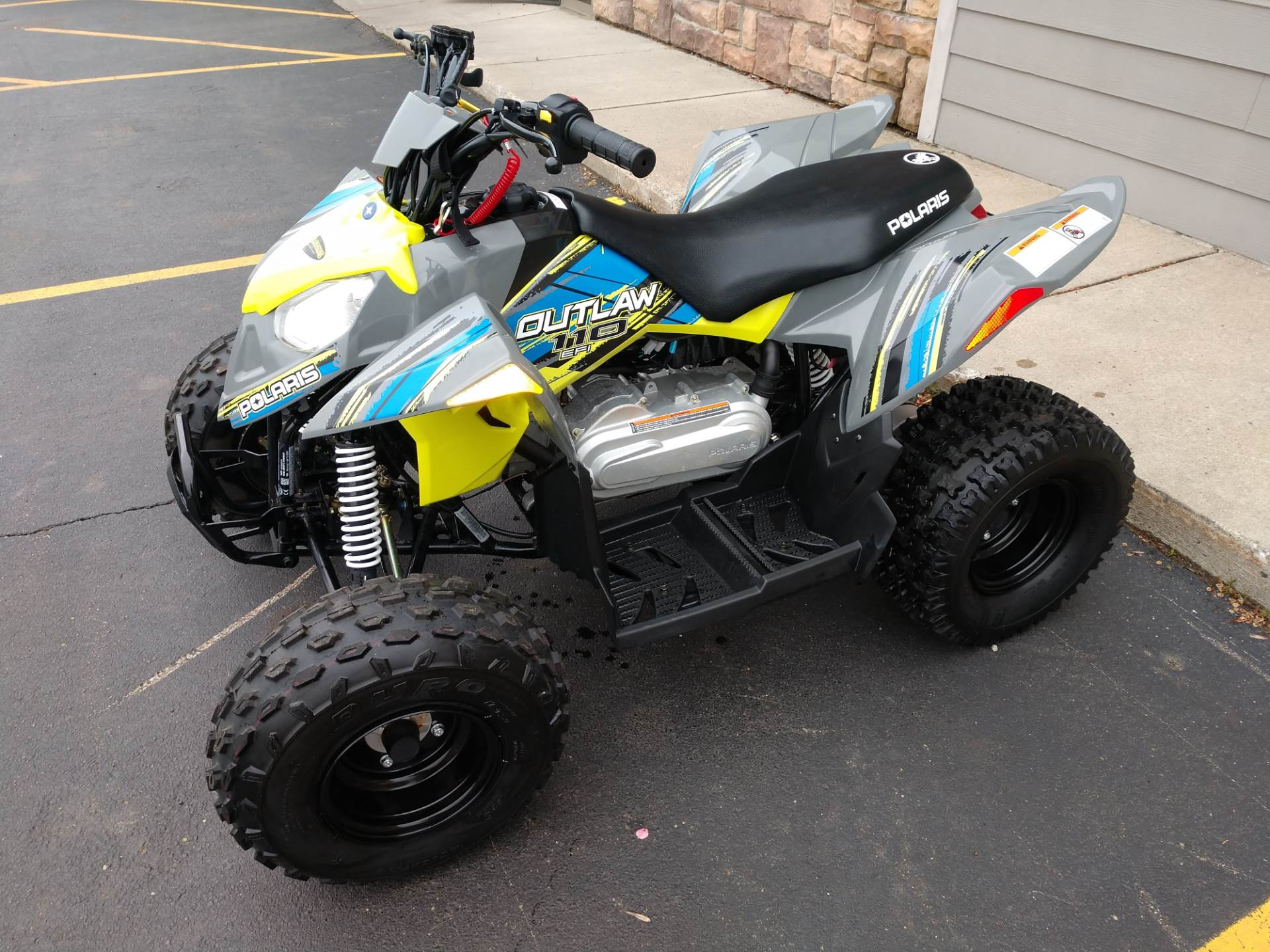 2017 Polaris Outlaw 110 in Hamburg, New York - Photo 3