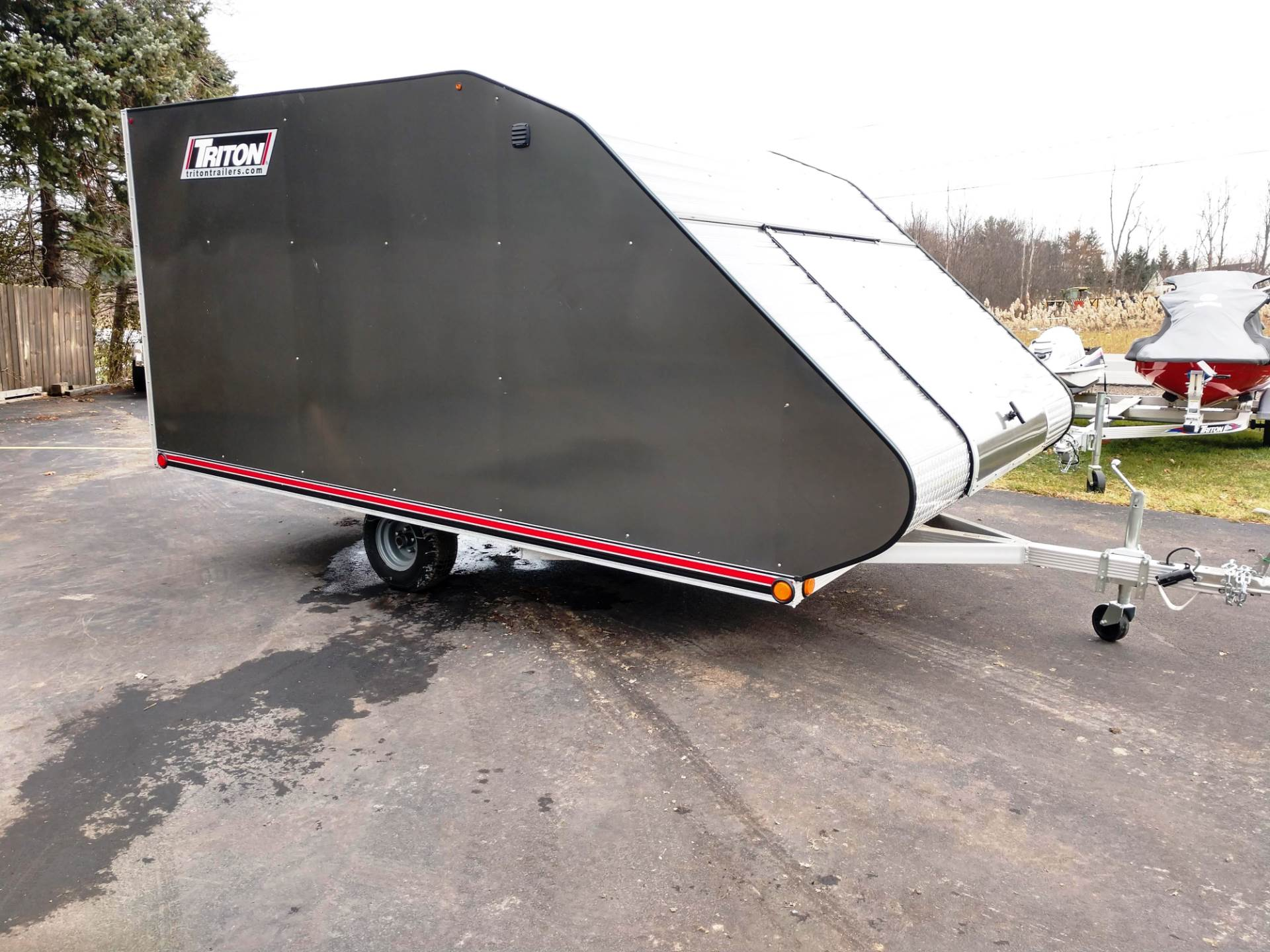 2019 Triton Trailers TC128 in Hamburg, New York - Photo 1