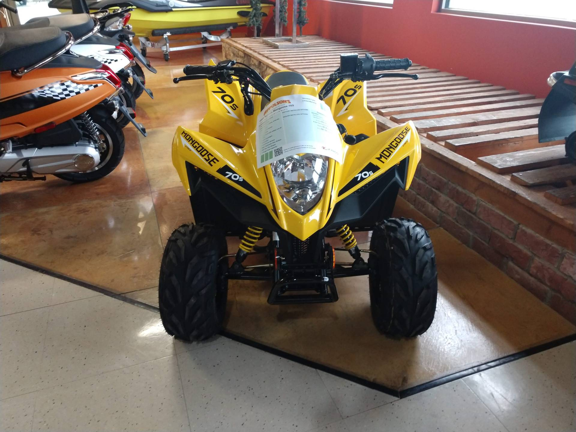 2021 Kymco Mongoose 70s in Hamburg, New York - Photo 2