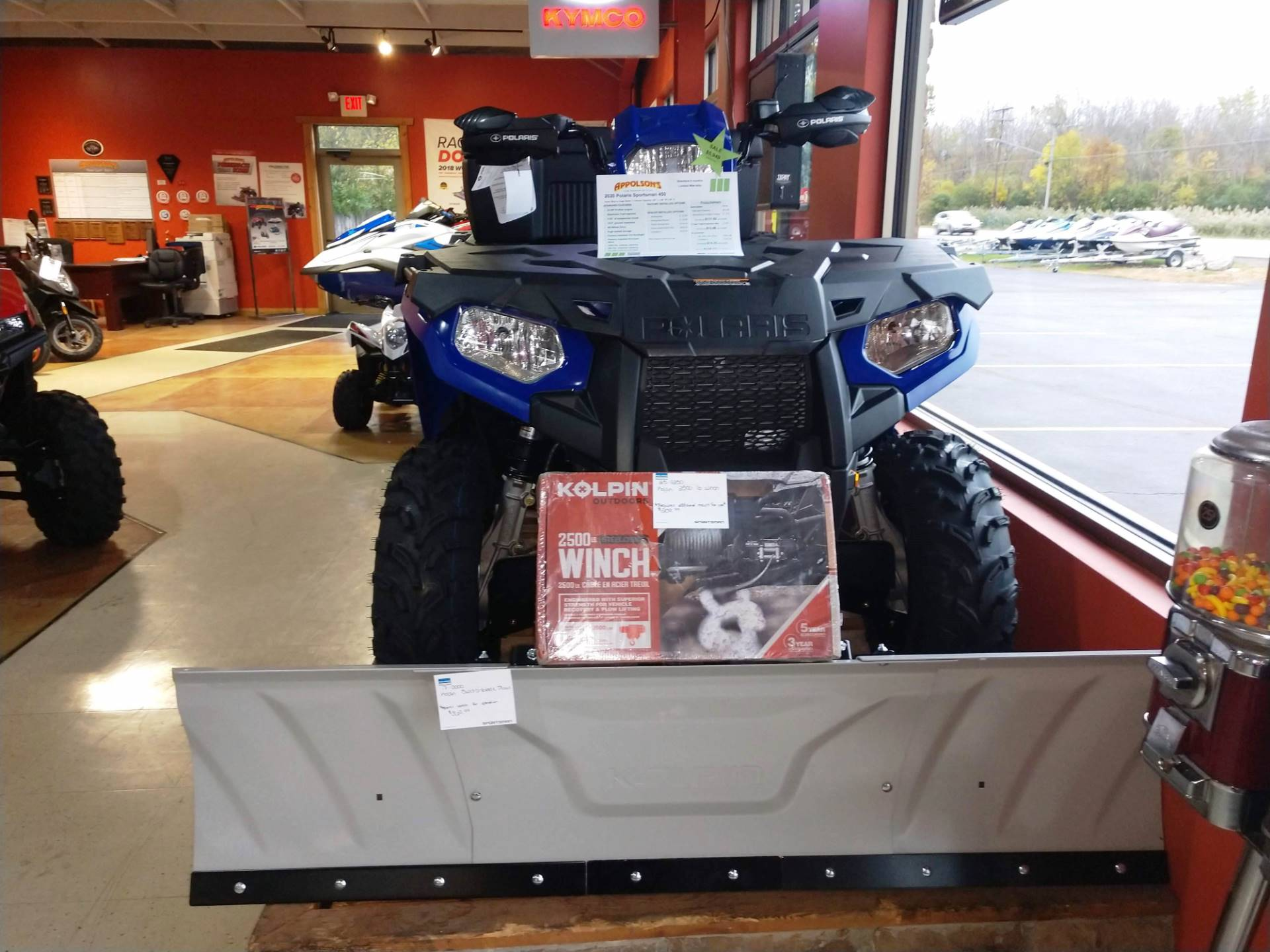2020 Polaris Sportsman 450 H.O. in Hamburg, New York - Photo 2