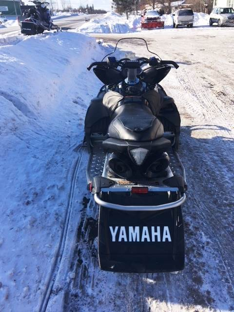 2012 Yamaha Apex® SE in Hamburg, New York