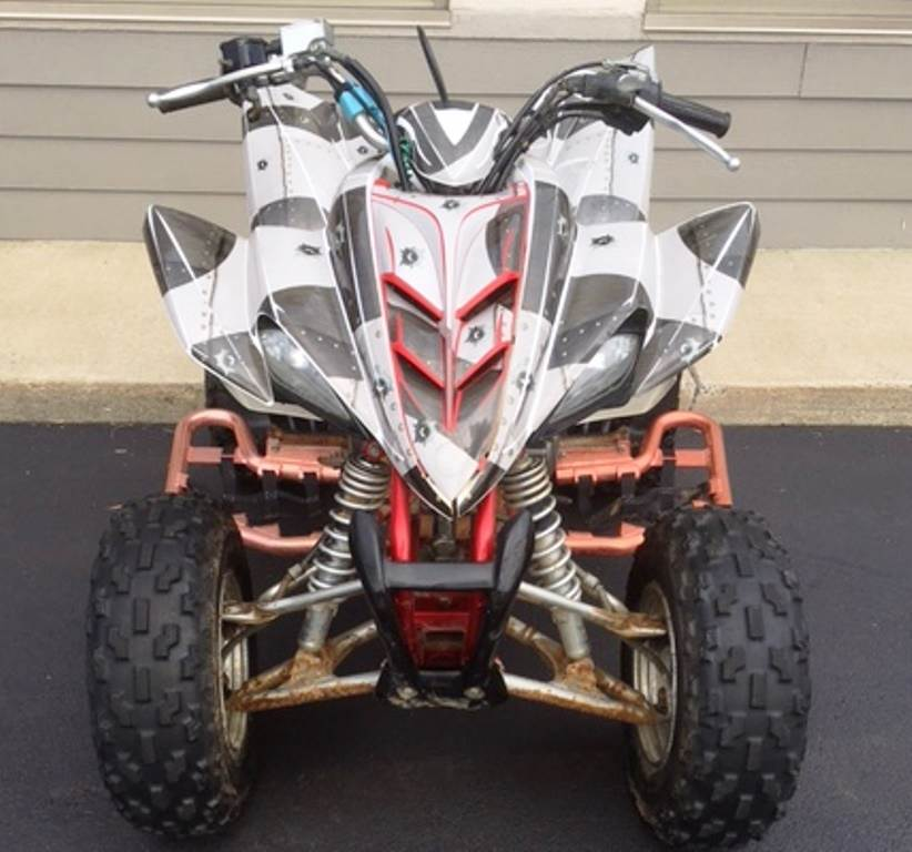 2004 Yamaha Raptor 350 in Hamburg, New York