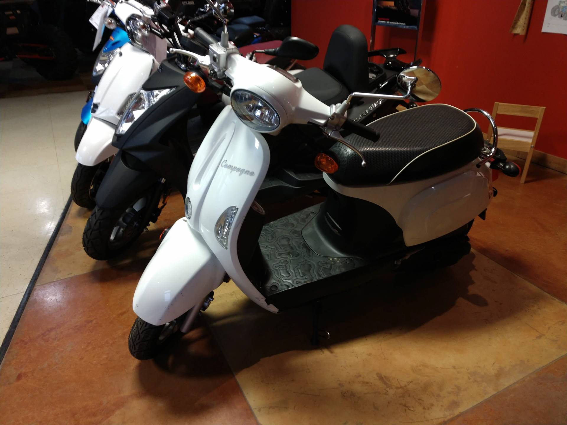 2013 Kymco Compagno 50i in Hamburg, New York - Photo 1