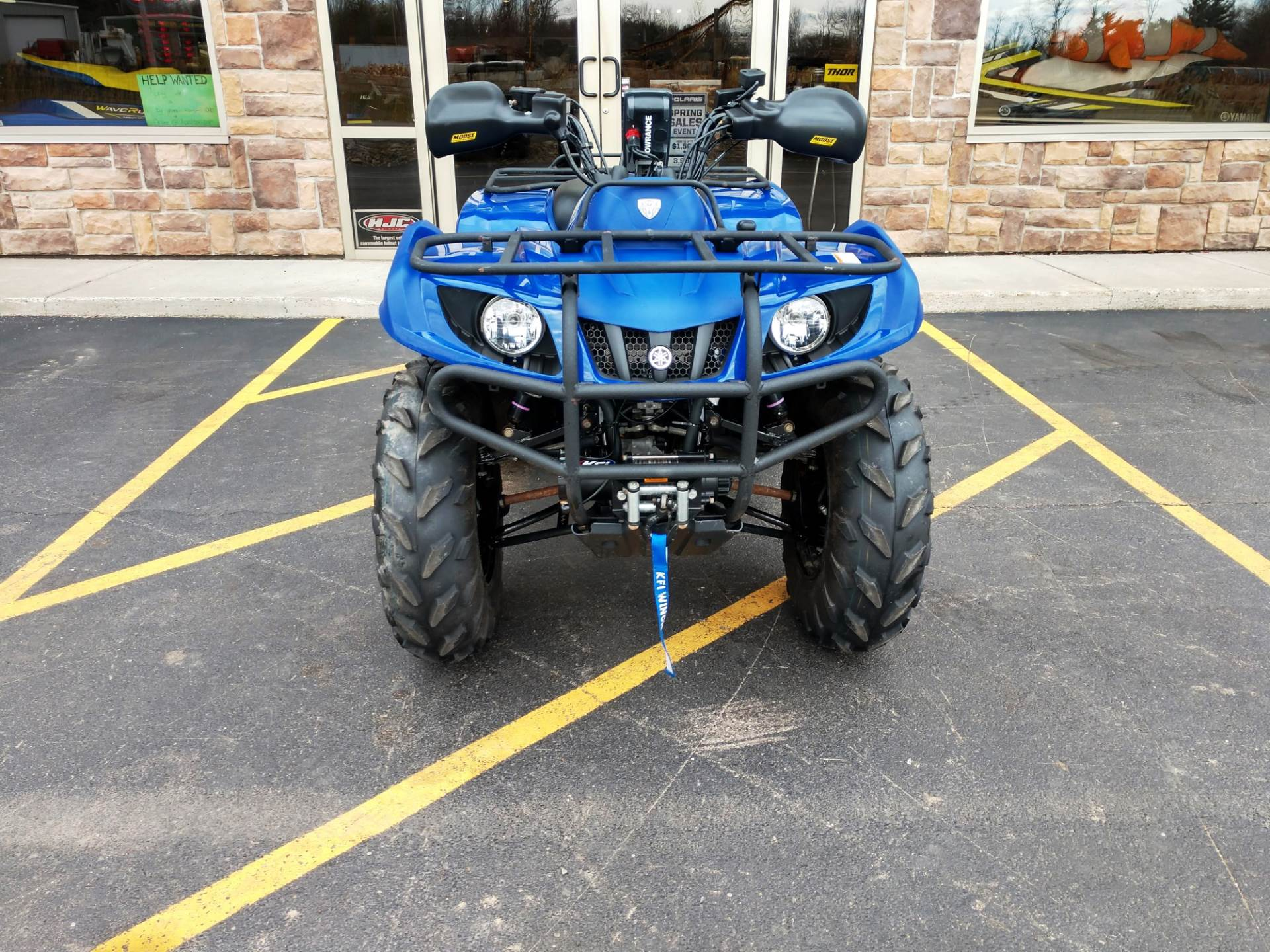 2014 Yamaha Grizzly 350 Auto. 4x4 in Hamburg, New York