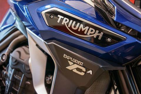 2017 Triumph Tiger Explorer XCA Lucerne Blue in Brea, California