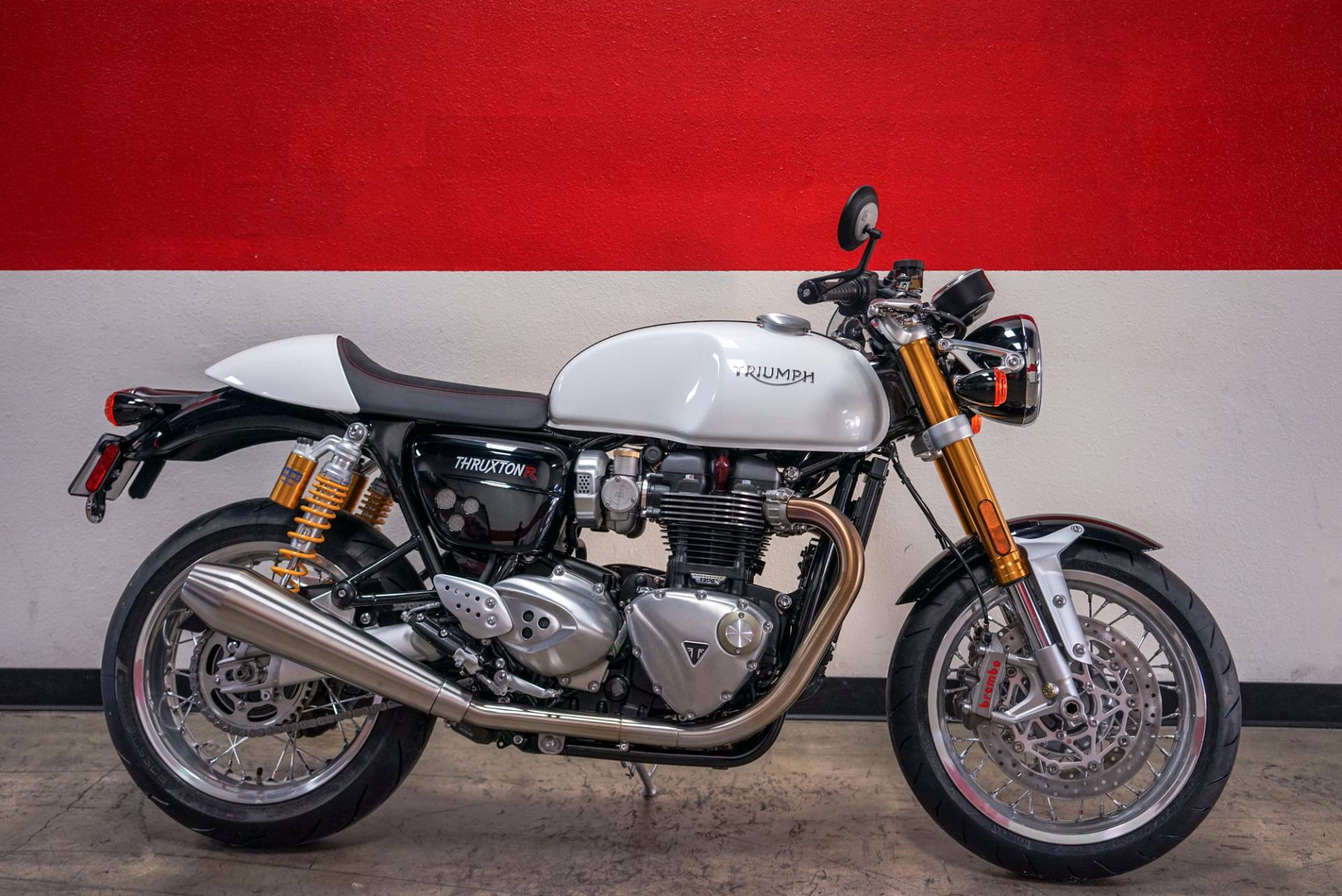 new 2018 triumph thruxton 1200 r motorcycles in brea ca. Black Bedroom Furniture Sets. Home Design Ideas
