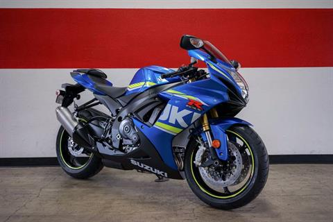 2017 Suzuki GSX-R750 in Brea, California