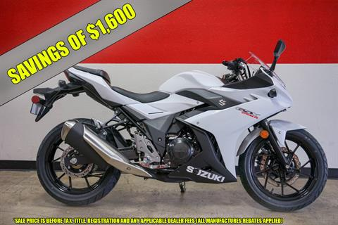 2018 Suzuki GSX250R in Brea, California