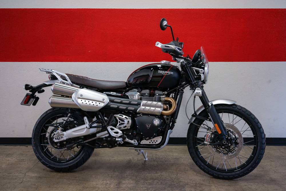 New 2019 Triumph Scrambler 1200 Xc Motorcycles In Brea Ca