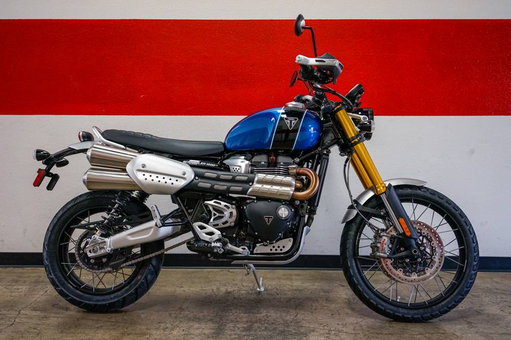 New 2019 Triumph Scrambler 1200 Xe Motorcycles In Brea Ca