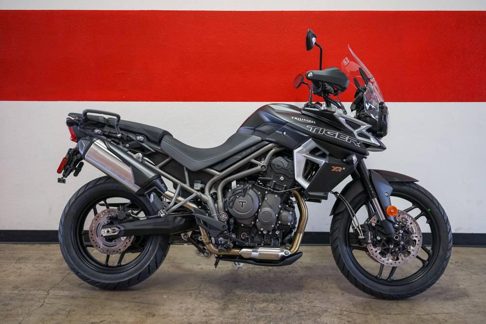 New 2018 Triumph Tiger 800 XRx Motorcycles in Brea, CA