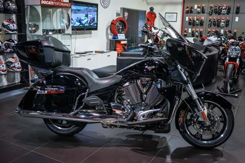 2016 Victory Cross Country Tour Gloss Black in Brea, California