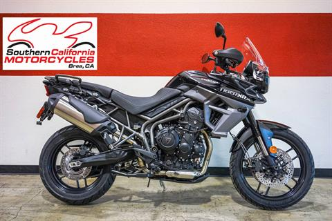 2018 Triumph Tiger 800 XRx in Brea, California