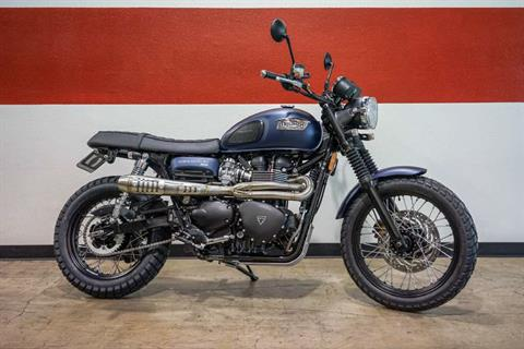 2016 Custom Triumph Scrambler in Brea, California