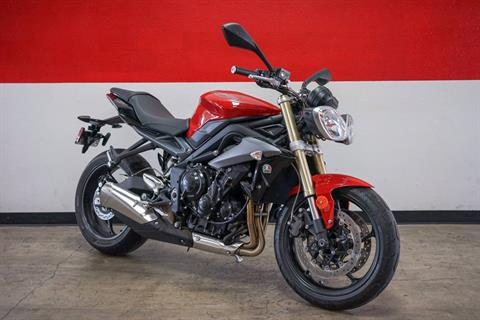 2015 Triumph Street Triple ABS in Brea, California
