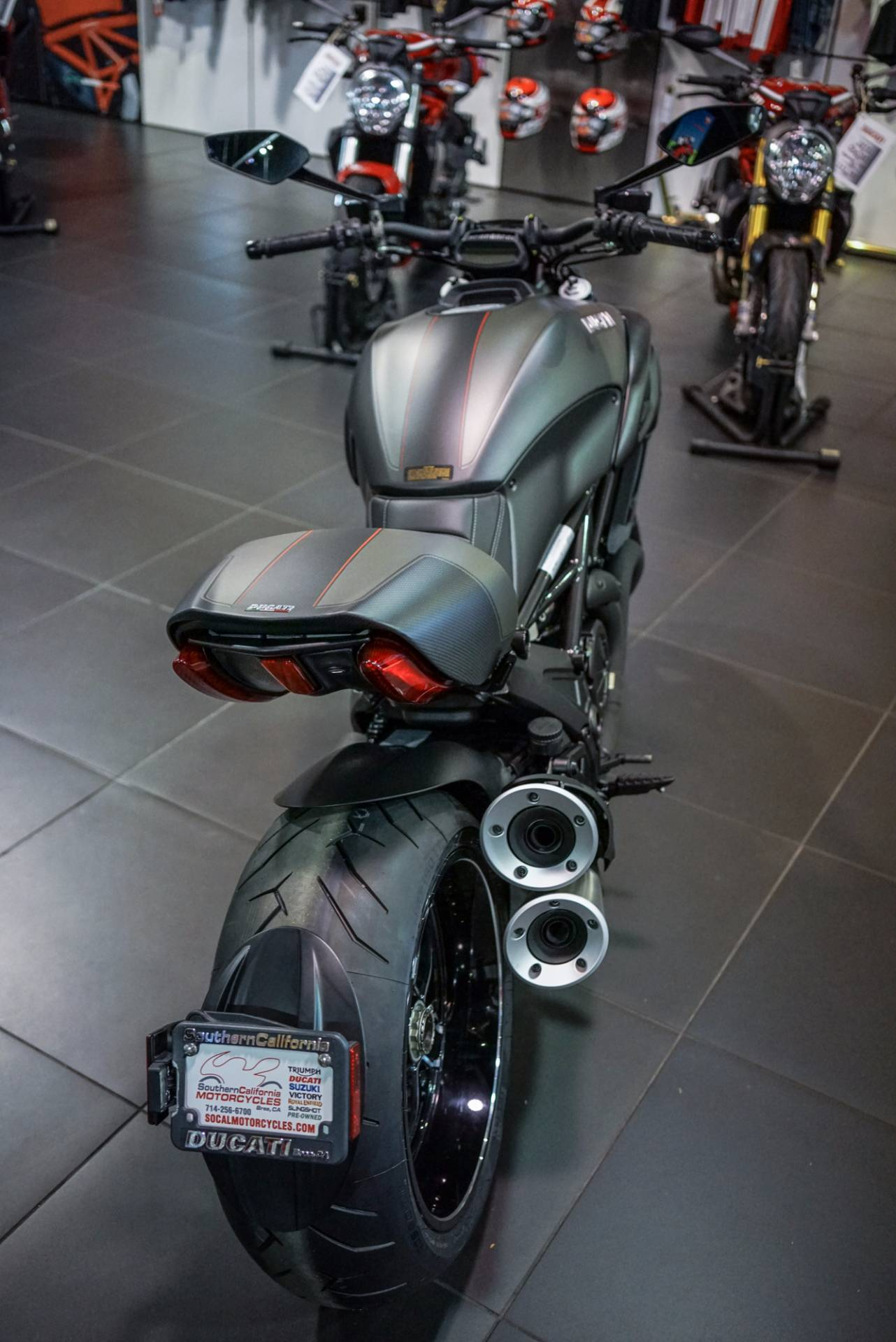 New 2018 Ducati Diavel Carbon Motorcycles in Brea, CA