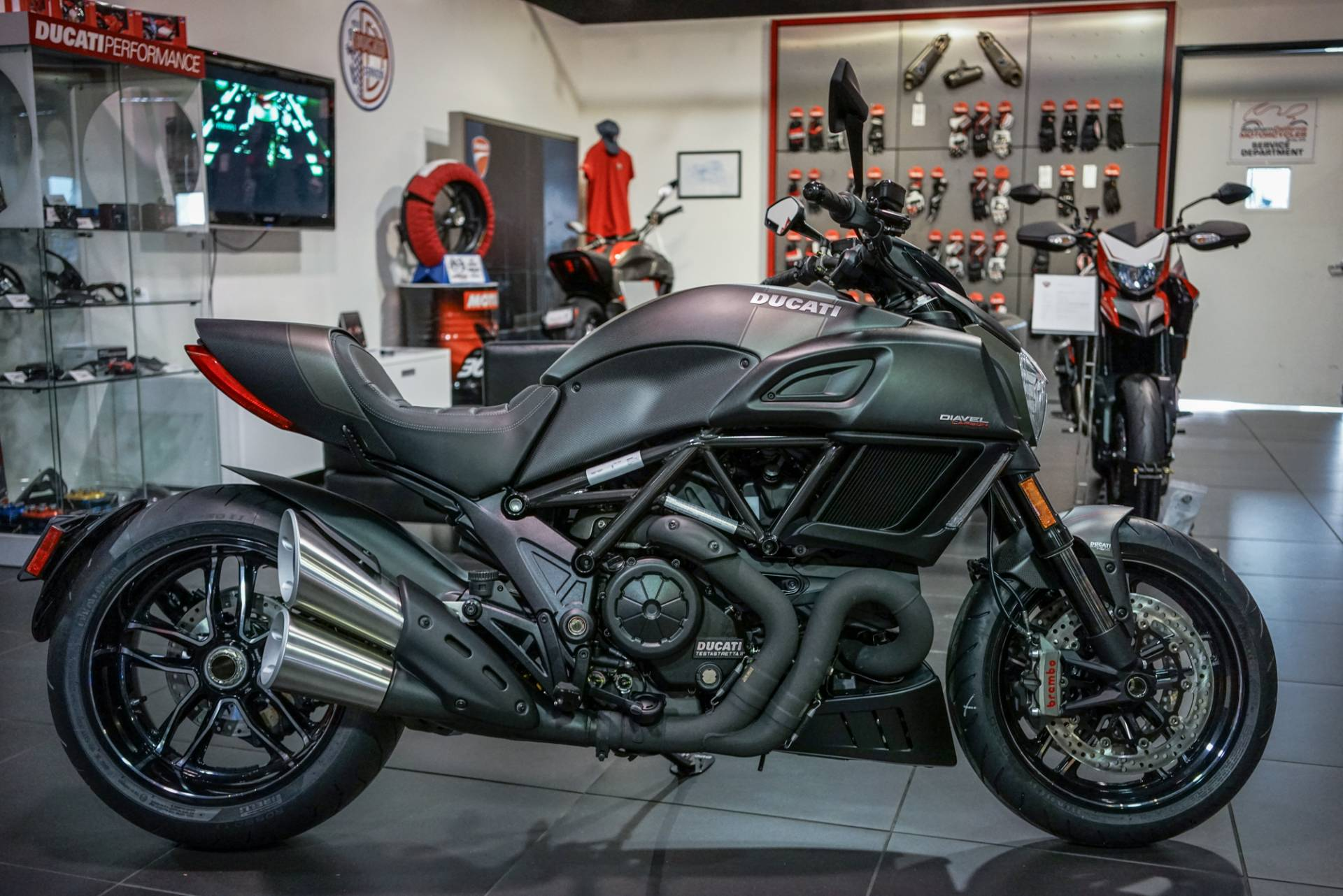 New 2018 Ducati Diavel Carbon Motorcycles In Brea Ca