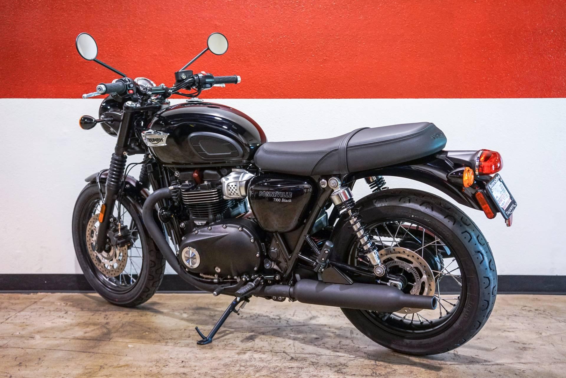 new 2017 triumph bonneville t100 motorcycles in brea, ca