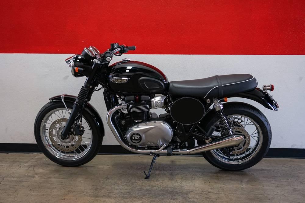 New 2017 Triumph Bonneville T100 Motorcycles In Brea Ca