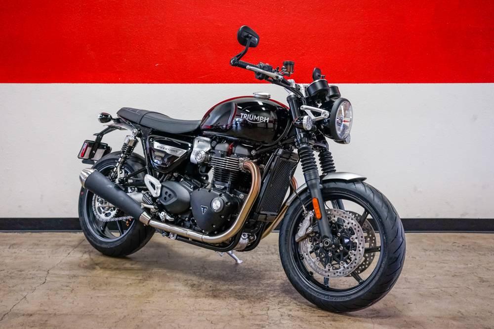 New 2019 Triumph Bonneville Speed Twin Motorcycles In Brea Ca