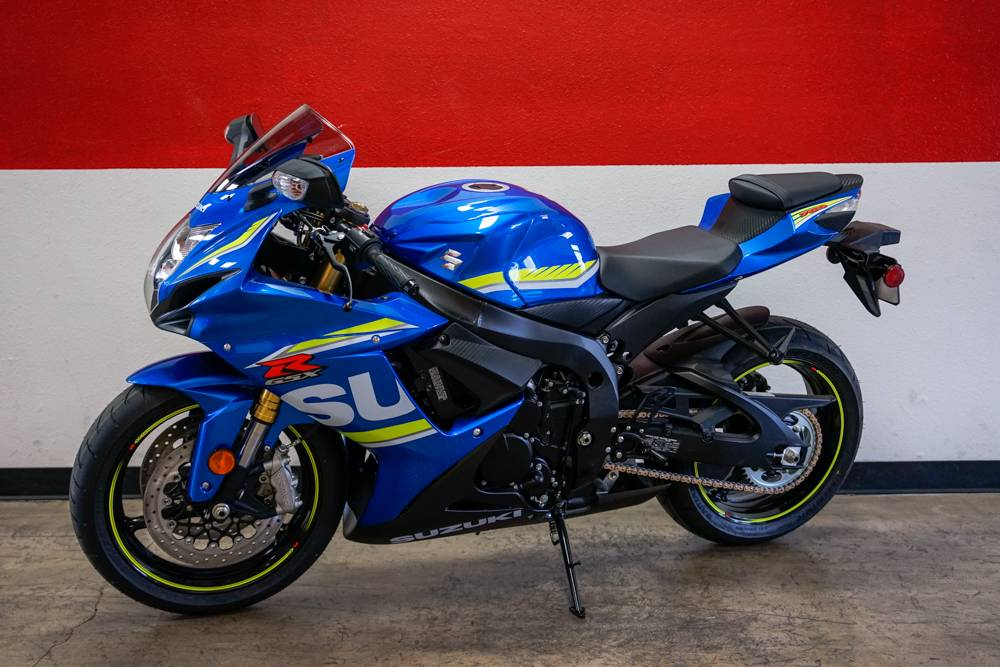 2018 Suzuki GSX-R750 in Brea, California - Photo 11