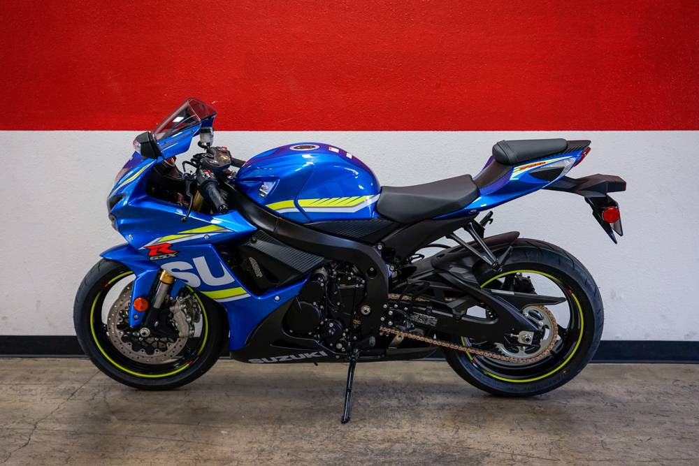 2018 Suzuki GSX-R750 in Brea, California - Photo 12