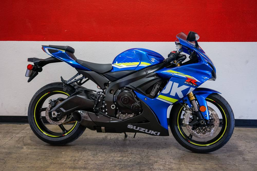 2018 Suzuki GSX-R750 in Brea, California - Photo 1