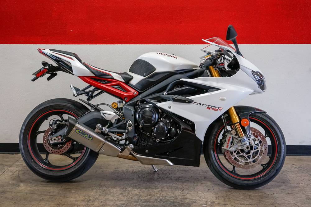 2017 Triumph Daytona 675 R ABS in Brea, California - Photo 1