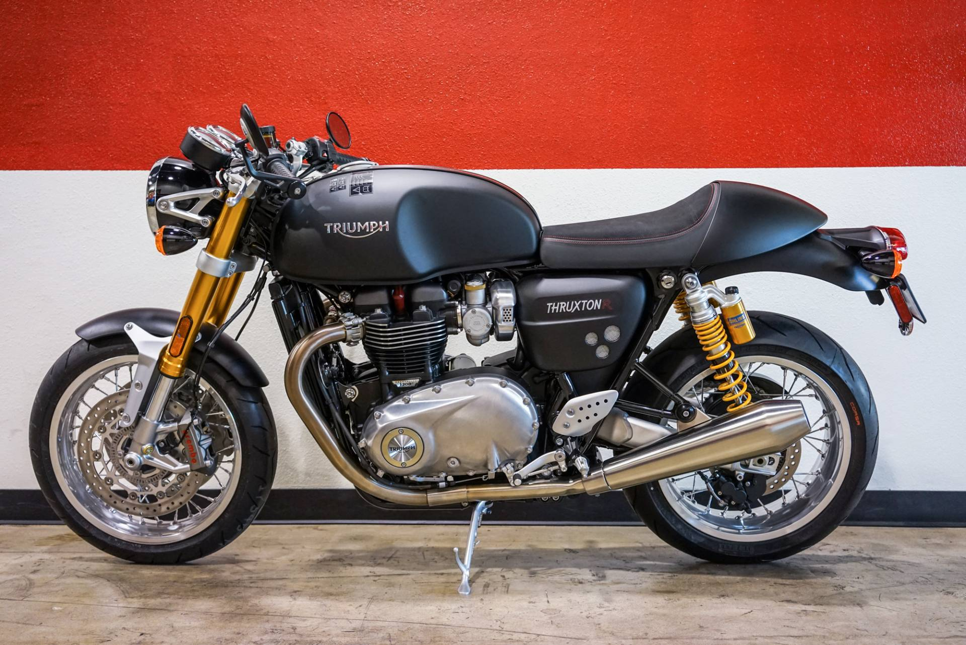 2018 Triumph Thruxton 1200 R in Brea, California