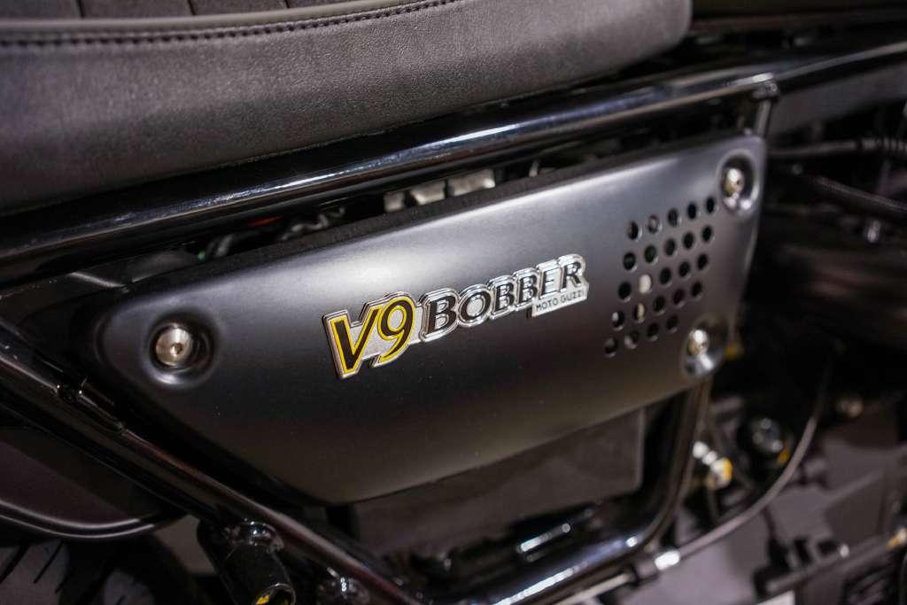 2017 Moto Guzzi V9 Bobber Nero Massiccio in Brea, California