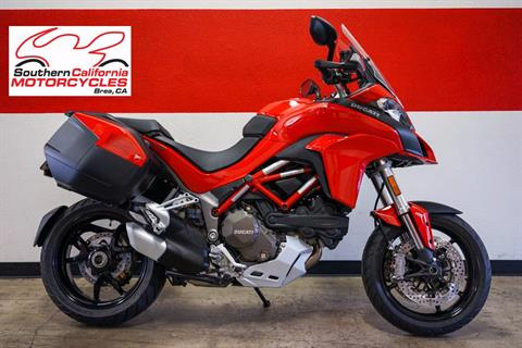 2016 Ducati Ducati Multistrada 1200 with Touring Pack - Red in Brea, California