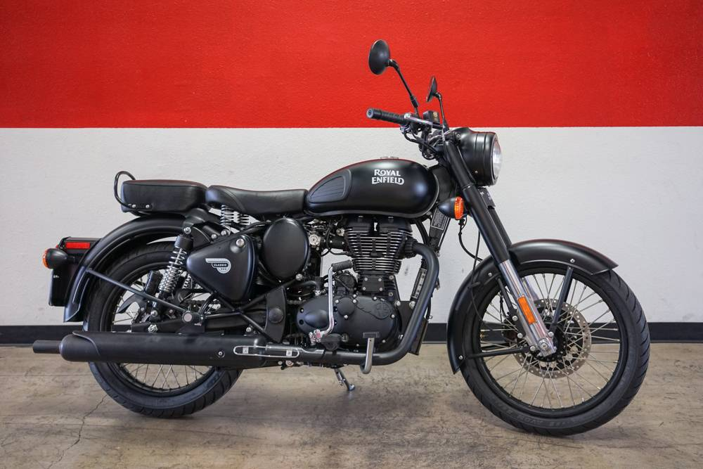 2018 Royal Enfield Classic Stealth Black ABS in Brea, California - Photo 1