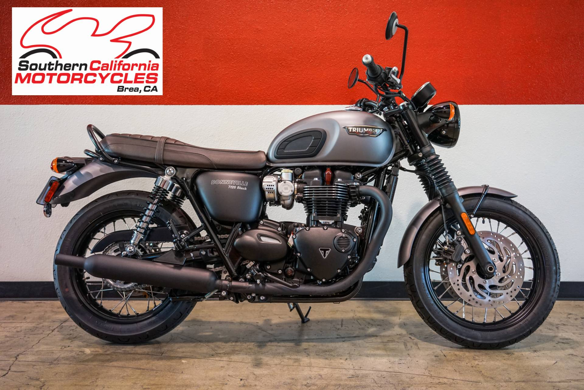 New 2018 Triumph Bonneville T120 Black Motorcycles In Brea Ca