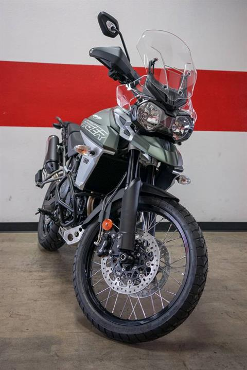 2018 Triumph Tiger 800 XCx in Brea, California