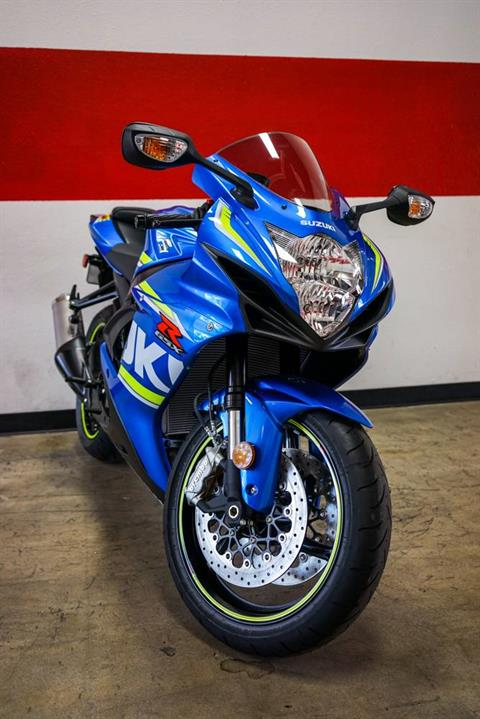 2018 Suzuki GSX-R600 in Brea, California