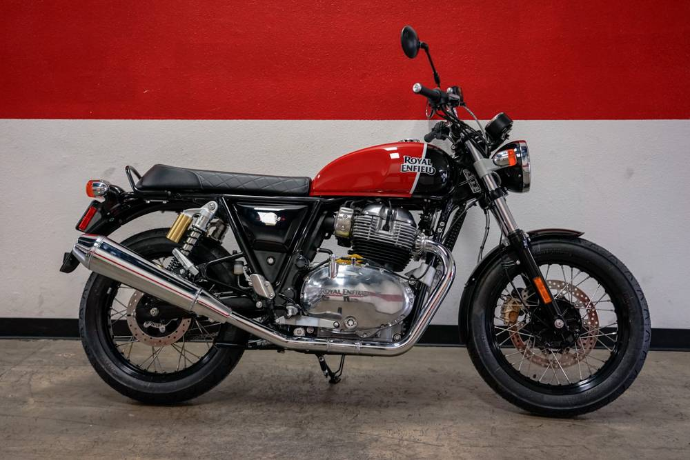 2019 Royal Enfield INT650 in Brea, California - Photo 1