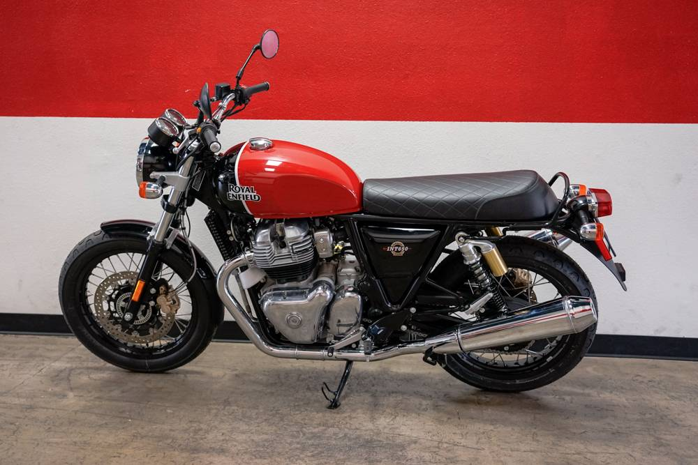 2019 Royal Enfield INT650 in Brea, California - Photo 12